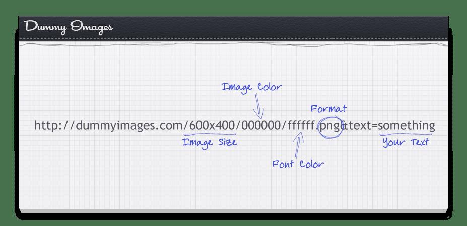 dummyimages.com - générateur d'images