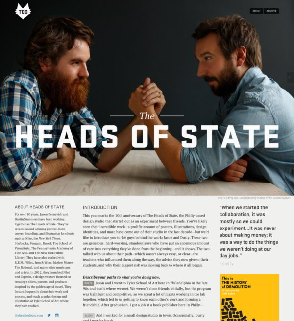Les tendances 2014 du Web design