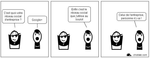 BD : Google+ l'avenir des RSE