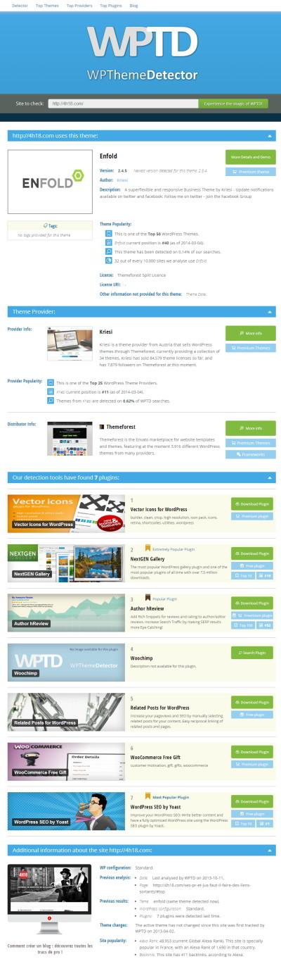 WordPress-wptd