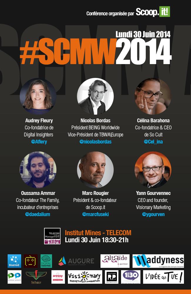 Conférence Stratégies de Contenus Marketing Web 2014 - #SCMW2014