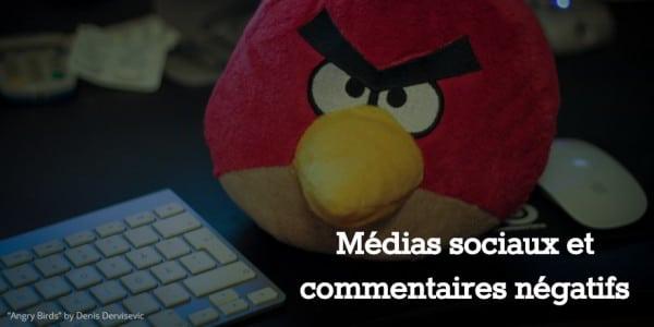 Médias sociaux : angry birds