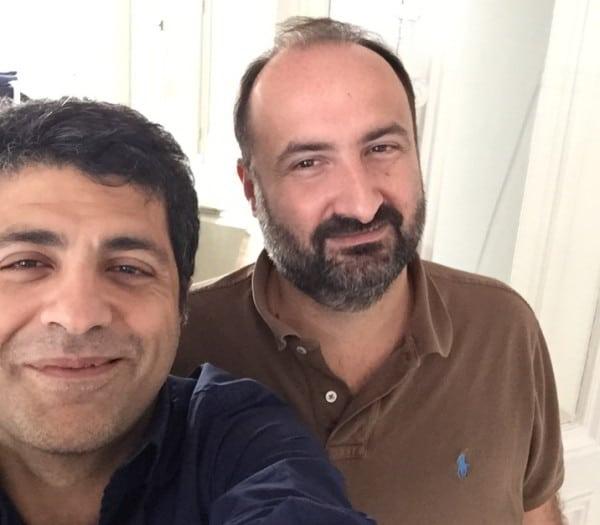 Amir Habibi et Julien Siouffi
