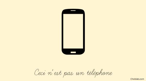 Ceci n'est pas un téléphone ou la révolution smartphone