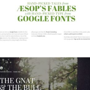 Google-Fonts-Typography