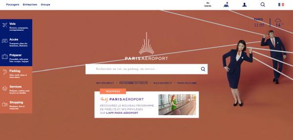 UX-parisaeroport-home