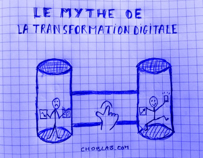 le mythe de la transformation digitale