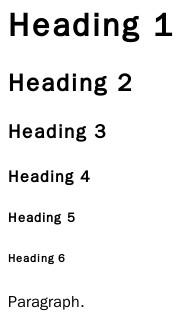 Exemple de structure de titres de page web (H1, H2, H3...)